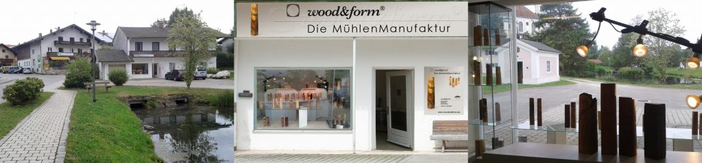 neuer Woodandform Laden in Breitbrunn