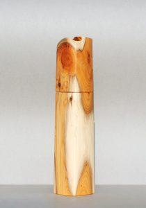 Woodandform Pfeffermühle aus Eibenholz
