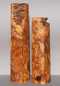 Woodandform Pfeffermühlen aus Olivenholz