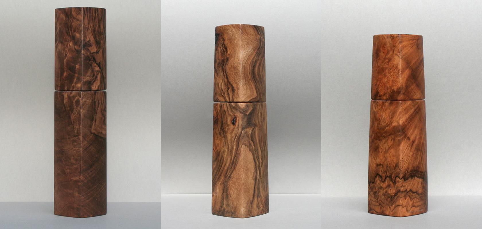 Pfeffermühle Walnuss Holz