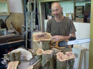 Woodandform Salz und Pfeffermühlen aus edlem Eiben Holz