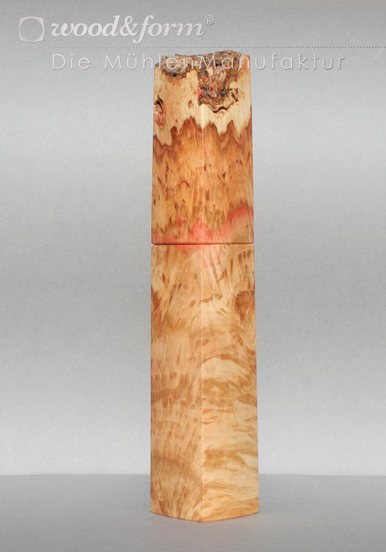 Woodandform Pfeffermühle Ahorn Maserknolle
