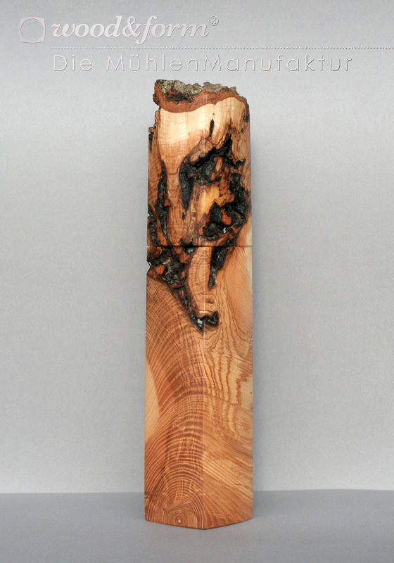 Woodandform Pfeffermühle Esche Maserknolle