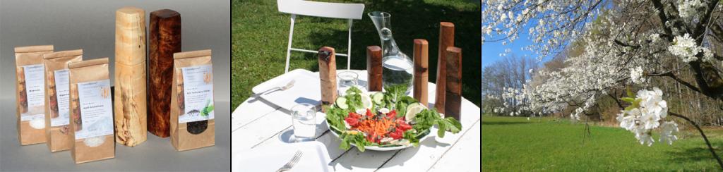 Woodandform Salz- und Pfeffermühlen aus Holz - Ein ideales Hochzeitsgeschenk