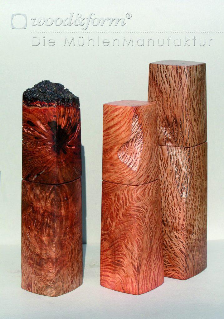 woodandform-Druck- 3-Steineichen
