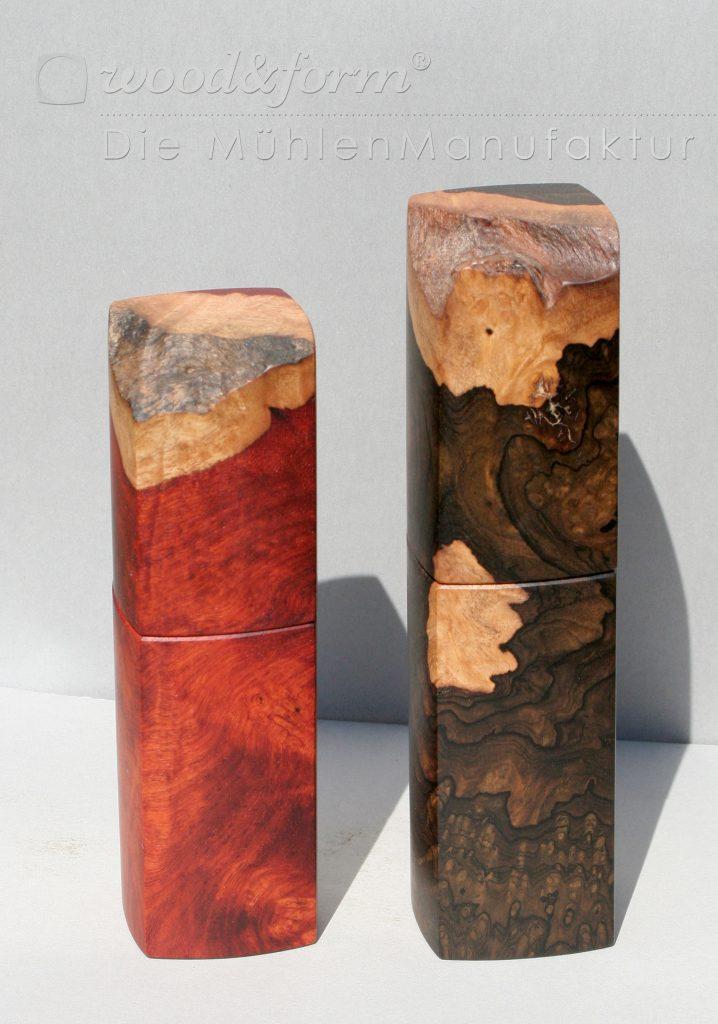 zwei-exoten-amboina-ziricote Hochaufgelöste Fotos für Presse und Druck
