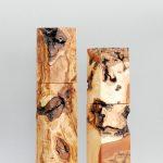 Woodandform Salz- und Pfeffermühlen aus Maserknollen