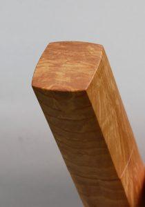 Woodandform Salz- und Pfeffermühlen mit quadratischer Grundform