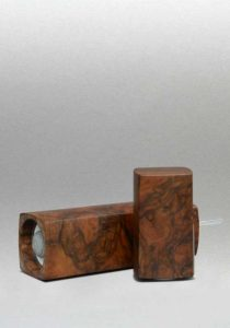 Woodandform Salz- und Pfeffermühlen mit dem Goldenen Schnitt