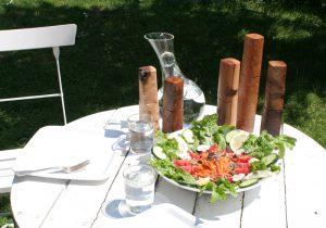 Woodandform Pfeffermühlen aus edlem Holz und hochwertigem Keramikmahlwerk