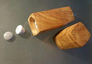 Pflege und Wartung von Holz und Mahlwerk