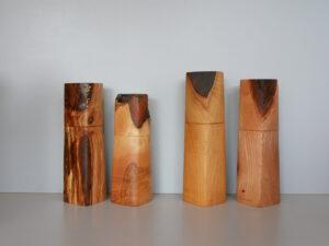 Woodandform Salz- und Pfeffermühlen aus Esche