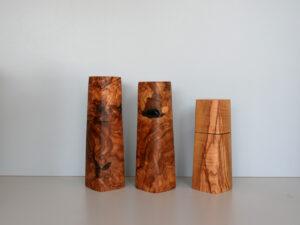 Woodandform Salz- und Pfeffermühlen aus Olivenholz