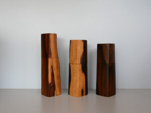 Woodandform Salz- und Pfeffermühlen aus Ziricote